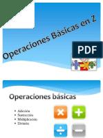 operaciones basicas