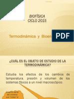 Termodinamica y Bioenergetica 25-03-2015