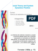Social Theory and System Dynamics Practice