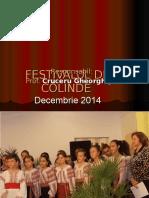 Festivalul de Colinde 2014-2015