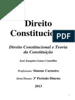 Apostila de Direito Constitucional e Teoria da Constituição - Canotilho.pdf