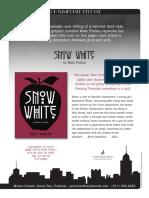Snow White by Matt Phelan Q&A