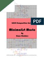 Minimalist Composition - Teachers Resources
