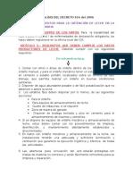 Analisis Del Decreto 616 Del 2006
