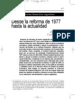 Cibils Alan YAllami Cecilia, El Sistema Financiero Argentino. Desde La Reforma de 1977 Hasta La Actualidad