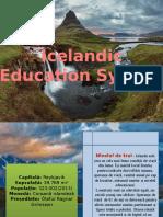 Icelandic Education System Istrati