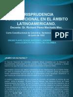 Jurisprudencia Constitucional en El Ámbito Latinoamericano