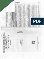 Bobbio - Relaciones Entre La Filosofia Politica y La Ciencia Politica