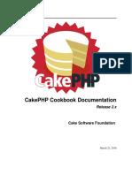 CakePHPCookbook Documentation