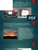 Comprension Lectora y E-learning1