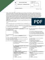 Evaluación Final Lenguaje 3º 2015