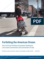 Forfeiting the American Dream