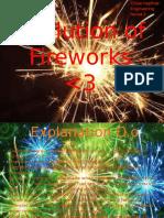 evolution of fireworks