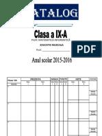 Catalog Model