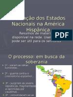 formacao dos estados nacionais na america hispanica