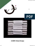 «EUBM »Book Design