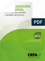 Fiscalizacion Ambiental - Oefa - Informe 2015