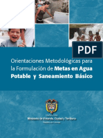 Orientacion Metodologicas Agua Potable
