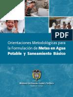 Orientacion Metodologicas Agua Potable