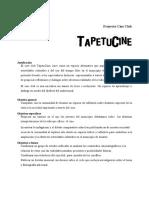 Proyecto Cine Club Tapetucine Corregido