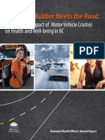 Reducing Motor Vehicle Crashes - Health Officer Report