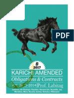 Karichi Amended B2017