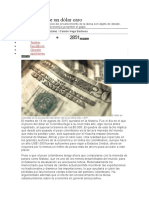 Los Efectos de Un Dólar Caro