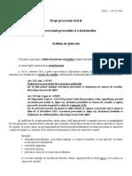 Procedura Civila semestrul II