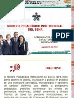 1. Modelo Pedagógico Institucional - Encuentro Pedagógico Medellín