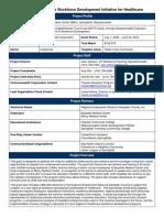 WCTF Grant Project Profile