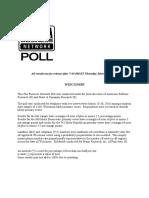 Fox Business News Poll Wisconsin 3-31-16