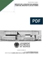 Serrano - La Impronta de La Arquitectura Moderna en La Obra Del Arquitecto Luis Gay Ramos