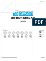 30 Days Out Calculator Results DIETA