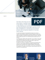 PPP-In New Zealand. Getting the Procurement Model Right