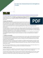 Cinco Estudios Científicos Sobre Las Consecuencias de Los Transgénicos y Sus Agroquímicos en La Salud