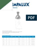 Luminária Industrial Alumínio