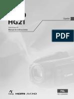 Hg20 instrucciones de uso