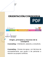 ORIENTACIÓN-CONSEJERIA