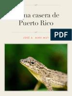 Fauna Casera de Puerto Rico