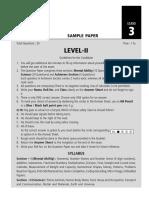 SOF Level 2 NSO Class 3