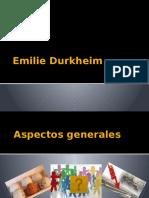Clase Durkheim
