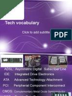Tech Vocabulary