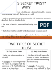 Slides Secret Trust