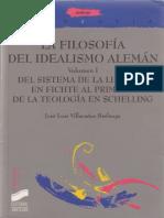 Villacañas Berlanga Jose Luis - La Filosofia Del Idealismo Aleman - Vol I