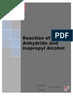 An Acid Catalyzed Reaction