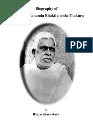 Bhaktivinode_Thakura | Vaishnavism | Religion And Belief