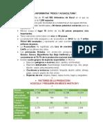 Tarjeta Informativa Pesaca y Acuacultura