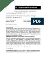 Diseño y Aplicacion ISO 50001