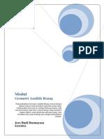modul-2 Geometri Analitik Ruang