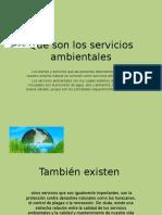 Qué Son Los Servicios Ambientales